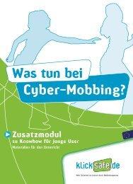 Cyber-Mobbing? Was tun bei
