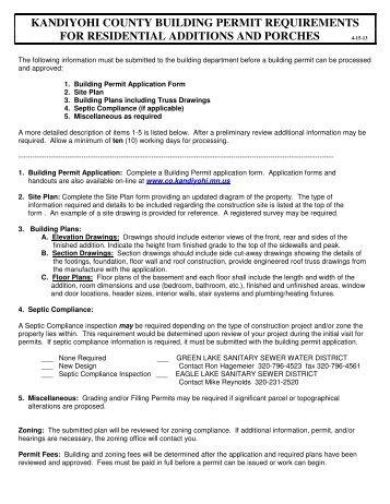 MINNESOTA BIRTH RECORD APPLICATION - Kandiyohi County ...