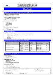 (MSDS) (114.5 KB - pdf) - Jula