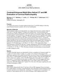 Contrast-Enhanced Multi-Slice Helical CT and MR ... - For Members