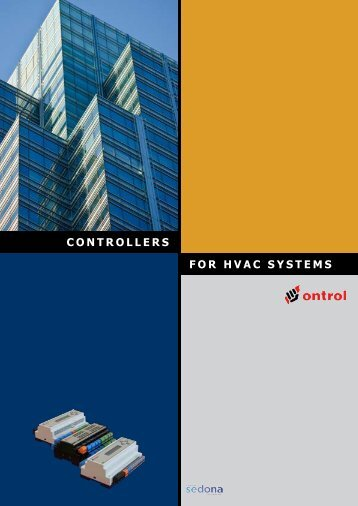 CONTROLLERS FOR HVAC SYSTEMS - Ontrol EN