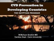 CV Prevention in Developing Countries