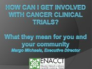 Webinar Slides - Bladder Cancer Advocacy Network