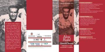 ências sociais e humanas para olhar para Alves Redol - Câmara ...