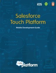 Salesforce Touch Platform - Bitpipe
