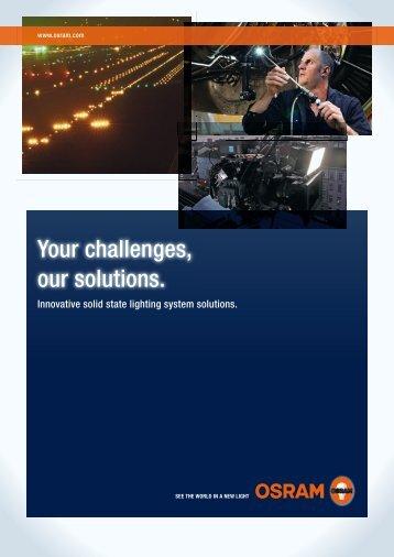 SSL System solutions 2010 - OSRAM