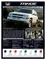 specifications / models available exterior colors - Autohaus Engler