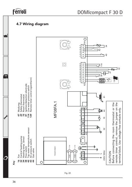 DOMIcompact Remote Pressure Switch Wiring Diagram For on