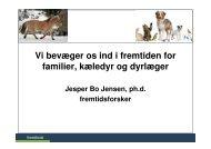 Kæledyr og familier i fremtiden - Fremtidsforskeren Jesper Bo Jensen
