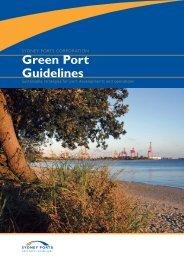 Green Port Guidelines - Sydney Ports