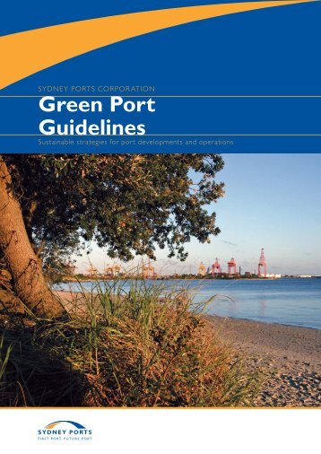 Green Port Guidelines - Sydney Ports