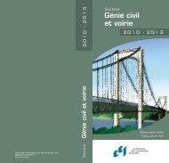 Secteur Génie civil et voirie - Commission de la construction du ...
