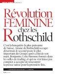 Interview exclusive de la Baronne Benjamin de Rothschild dans le ... - Page 2