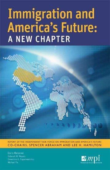 Immigration and America's Future: A New Chapter - Migration Policy ...
