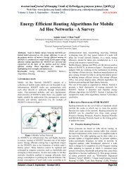 Energy Efficient Routing Algorithms for Mobile Ad Hoc Networks –A ...