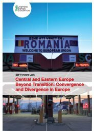 Central and Eastern Europe Beyond Transition - European Science ...