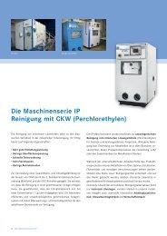 CKW-Lösemittelanlagen IP50V - 400V - Wehrle & Weber