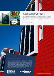 Rockpanel Colours - Inopan