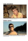 TOM GRAMENZ SWEN GIPPA A FILM BY STÉPHANE RIETHAUSER - Page 7