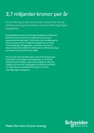 Rapport - Schneider Electric
