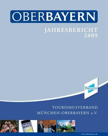 JAHRESBERICHT 2009 - Logo Tourismusverband Oberbayern