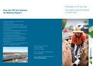 A Guide to Priority Infrastructure Plans - Mackay Regional Council