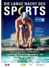 YOU CAN SPORT - Münchner Kultur GmbH