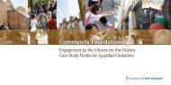 Community Foundations 7 - Fundación Bertelsmann