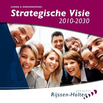 Strategische Visie - Gemeente Rijssen-Holten
