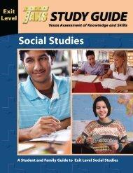 Gr11 SocStudies Study Guide - Texas Education Agency