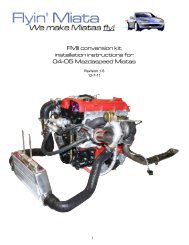 FMII conversion kit installation instructions for 04-05 ... - Flyin