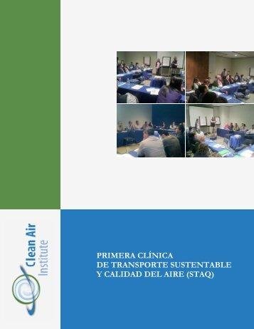 INCEPTION REPORT - Clean Air Institute