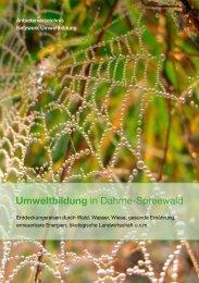 Umweltbildung in Dahme-Spreewald - MUGV - Brandenburg.de