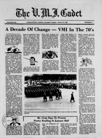 January 25 - New Page 1 [www2.vmi.edu] - Virginia Military Institute