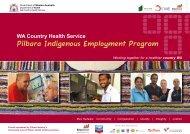 Pilbara Indigenous Employment Program booklet - WA Country ...