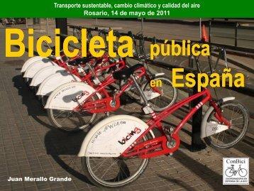 las bicicletas públicas en España - Clean Air Institute