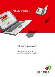 Årsregnskab 2009/2010 - Athena