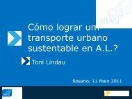 Cómo lograr um transporte urbano sustentable ... - Clean Air Institute