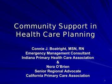 Boatright & O'Brien - The 2012 Integrated Medical, Public Health ...