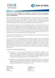 091012 Annex II Control Reg 721 final.pdf - Seas At Risk