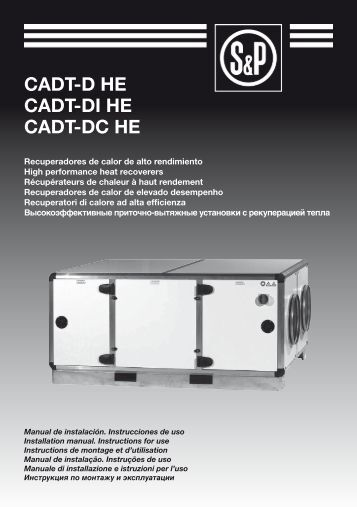 User manual CADT-HE