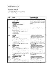 Årsplan Samfunnsfag 6. trinn 2011/2012 - Linksidene