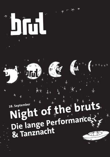 Night of the bruts - brut wien