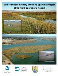 2005 Control Program Report - San Francisco Estuary Invasive ...