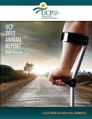 Download a PDF of the report here - United Cerebral Palsy