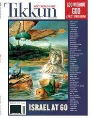 GOD ISRAEL AT 60 - Tikkun Magazine
