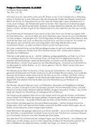 Predigt am Reformations Predigt am Reformationsfest, 31.10.2010 ...