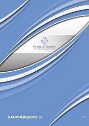 HAUPTKATALOG 2 - Kraus & Naimer
