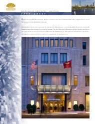 factsheet - Mandarin Oriental Hotel Group