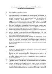 AGB's - DatenFABRIK IT-Service GmbH